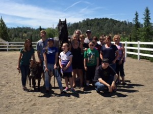 Equine Day at The Anxiety Treatment Center!